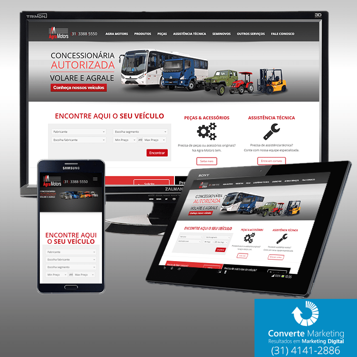 Website Agramotors