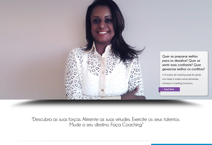 screenshot yonara nascimento website